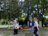 «Игры с мячом, используемые на прогулке»