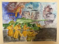 Выставка ко дню освобождения города Симферополя!