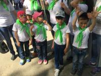 Открытие спартакиады для детей