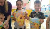 Мастер-класс для детей нетрадиционной техникой рисования на воде - «Эбру»